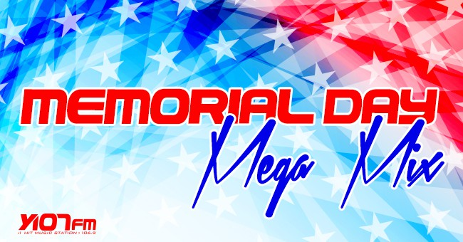Memorial Day Mega Mix slider 2014