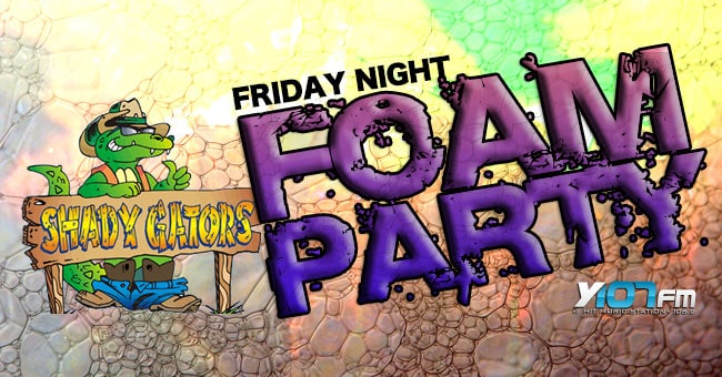 Shady Gators - Foam Party slider 2014