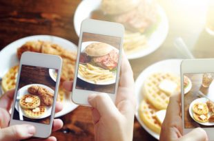 Posting food on Instagram helps you lose weight