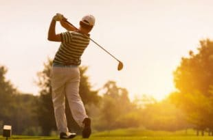 One round of golf is equal to a weeks worth of exercise