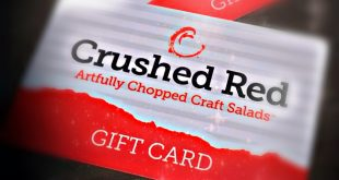 Crushed Red gift card