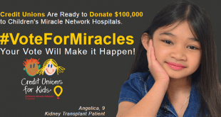 Vote for Miracles banner for MU Children's Hospital