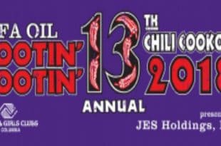Rootin' Tootin' Chili Cookoff this Saturday