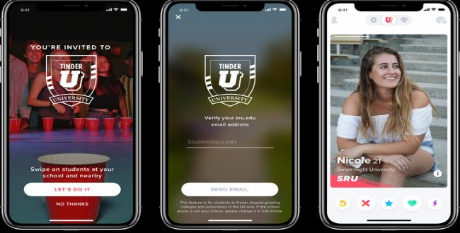 Tinder U arrives just in time for college!