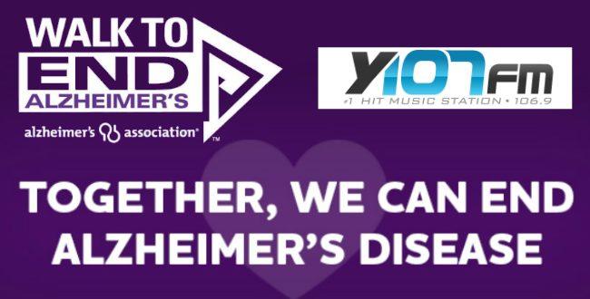 Alzheimer's Walk poster