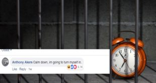 Picture of a clock in jail.