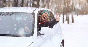Dude in a frozen car