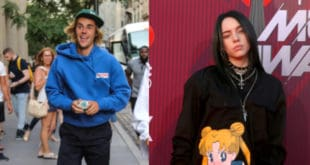 Justin Bieber and Billie Eilish pictures