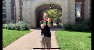 Y107 takes the streets for an epic water gun showdown