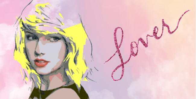 Taylor Swift Lover artwork