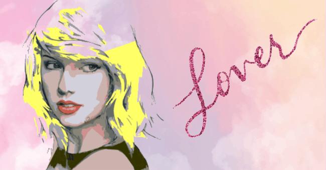 Taylor Swift Lover artwork