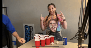 Y107's Lauren show off her Post Malone inspired alter-ego of Post MaLauren