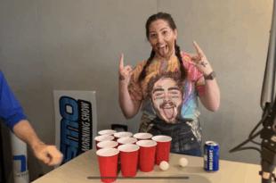 Y107's Lauren show off her Post Malone inspired alter-ego of Post MaLauren