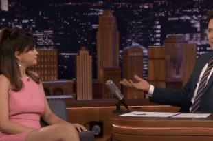 Jimmy Fallon interviews Selena Gomez on the Tonight Show January 14th, 2020