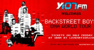 Backstreet Boys DNA tour poster
