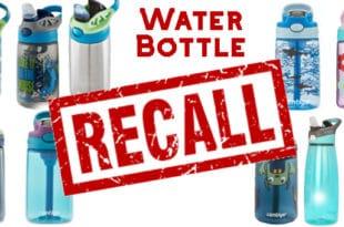 Waterbottle recall