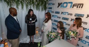 Fred and Lisa Got Married Today on Y107 [PHOTOS/VIDEO]