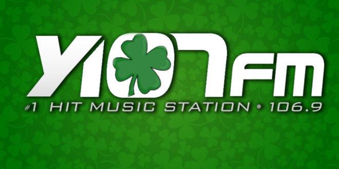 Y107 St. Patrick's Day logo