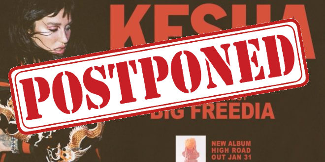Kesha tour poster