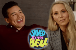 Slater and Jesse from Saved By The Bell Reboot
