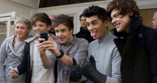 One Direction being silly taking pictures