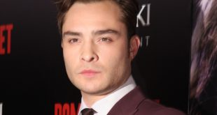 Ed Westwick at a Premiere