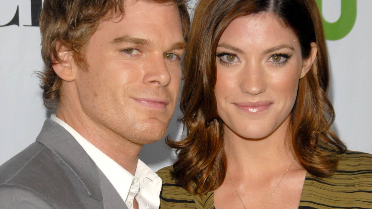 Michael C. Hall and Jennifer Carpenter at the CBS, CW and Showtime All-Star Party.