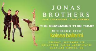 Jonas Brothers 2021 Tour photo