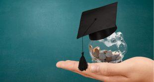 Education scholarship student icon investment money academic