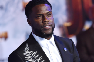 Kevin Hart arrives for the Jumanji: The Next Level Los Angeles Premiere on December 09, 2019 in Hollywood, CA