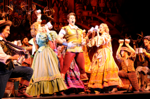 MARCH 26: Opening of Disney Musical The Beauty and the Beast in Opera Theater. March 26, 2010 in Buenos Aires, Argentina
