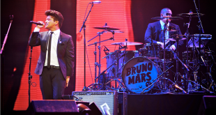 Las Vegas, NV, USA: September 23, 2011 - Bruno Mars performs