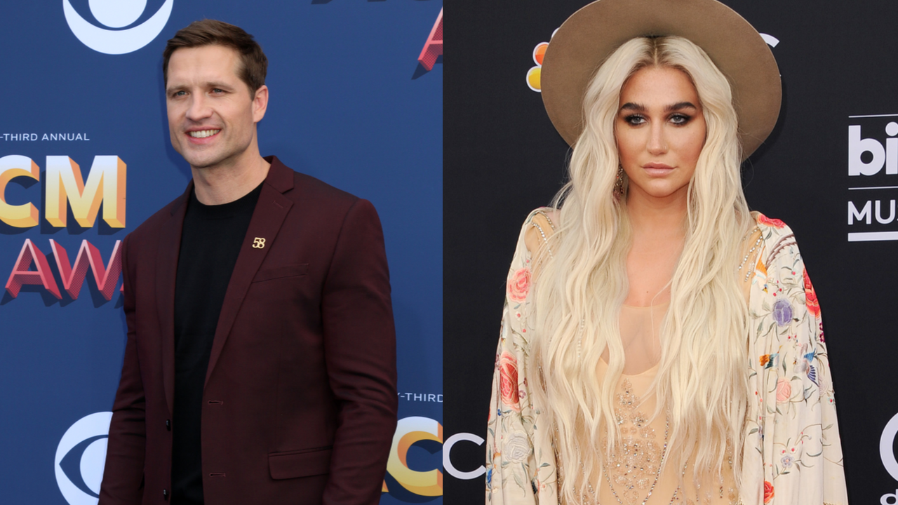 Left: Walker Hayes at the Academy of Country Music Awards 2018, Right: Billboard Music Awards 2018